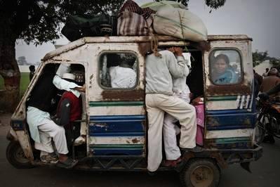公交车公交串车