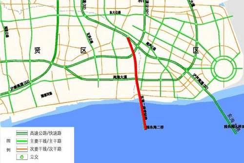 东海二桥登陆线